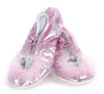 Prinzessinnen Slipper, pink Grösse L (28-30)