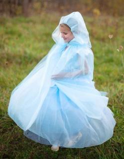 Prinzessinnen-Cape Royal blau - Faschingsumhang