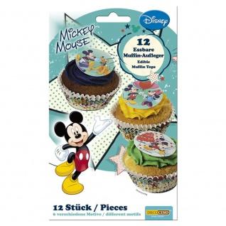 Essbare Muffinaufleger Mickey Mouse