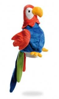 Handpuppe Papagei