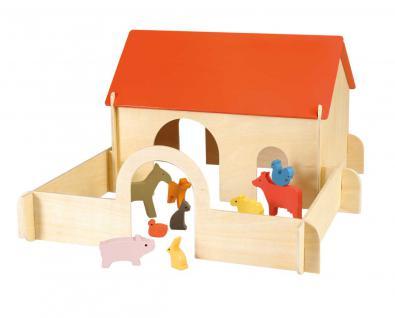 Bauernhof aus Holz - Spielset