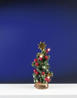 Weihnachtsbaum für Puppenhaus