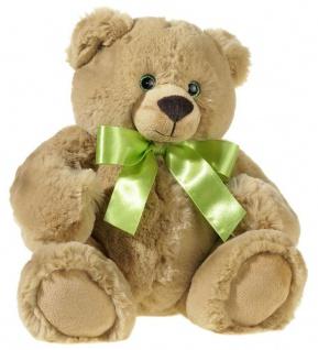 Plüschtier Bär, Super-Soft-Bär, sitzend 30 cm Farbe braun