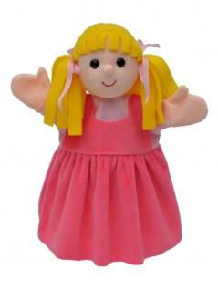 Handpuppe Mädchen, 27cm