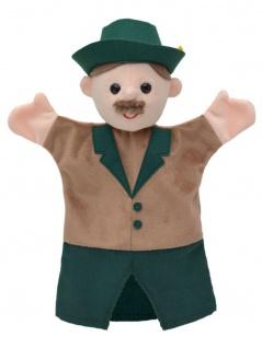Handpuppe Jäger, 28cm