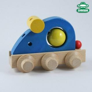 Laufteile für Drewa-Kugelbahn, Maus blau
