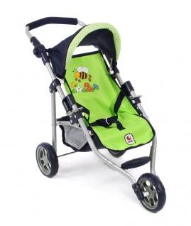 Jogging-Buggy LOLA für Puppen Dessin Bumblebee