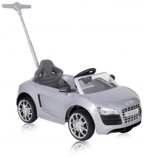 Rutscher AUDI PUSH CAR, silber, bis 20 kg