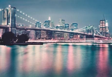 Fototapete Neon, New York City