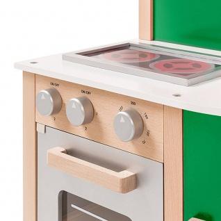 Spielküche, Buchenholz natur-grün