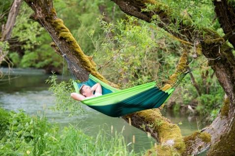 Hängematte Silk Traveller forest - ultra light - Vorschau 4