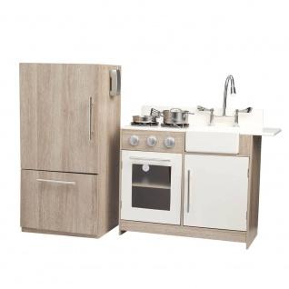 Spielküche modern, Holz-Design