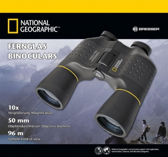 NATIONAL GEOGRAPHIC 10x50 Porro Fernglas