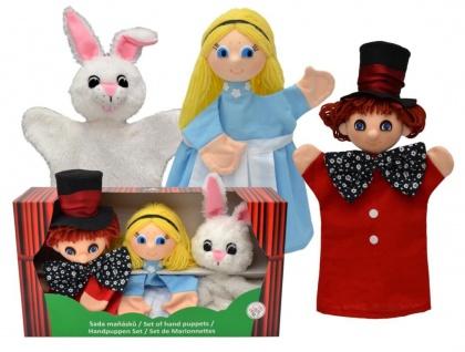 Set-Handpuppen Alice, in Geschenkbox - Handpuppen 3er Set