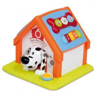 Baby Hundehütte mit Formen, Melodien