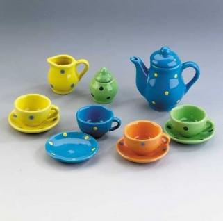 Porzellan-Geschirr, 13-teilig für die Puppenmutti oder Puppenvati ausgelistet we