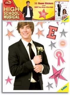 Sticker, Wandtattoos High School Musical für das Kinderzimmer
