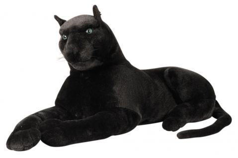 Plüschtier schwarzer Panther