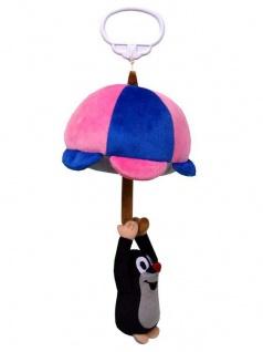 Spieluhr Der kleine Maulwurf - Maulwurf-Plüsch-Spieluhr am Regenschirm