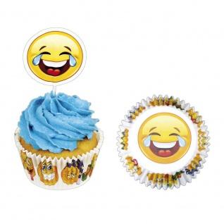 Muffinset Happy, 24 teilig