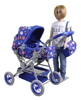 Puppenkombi Twingo S, blue splash