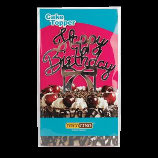 Cake Topper Happy Birthday - Tortendeko