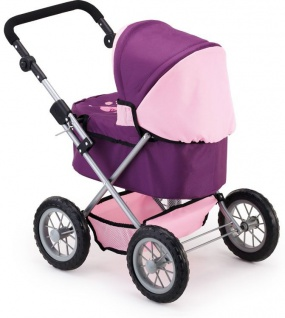 Puppenwagen Trendy Farbe pflaume