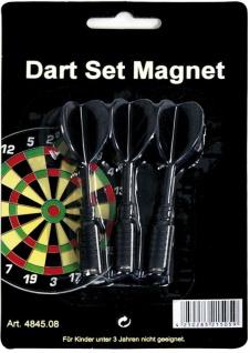 Ersatzpfeile für Magnet-Dartboard schwarz