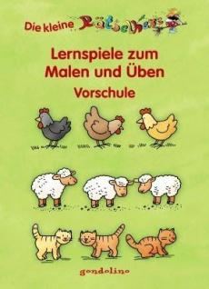 Kinderbuch, Rätselhexe - Vorschule Tiere auf dem Bauerhof