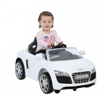 Kinderfahrzeug AUDI R8 SPYDER EZ DRIVE, 6V, weiss