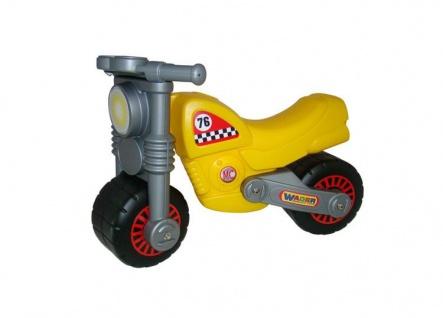 Motorrad, gelb