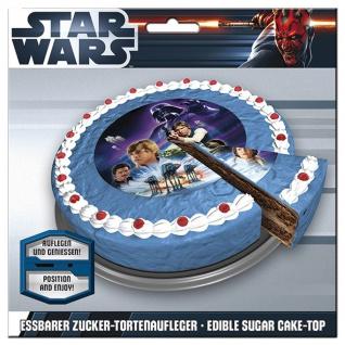 Zucker-Tortenaufleger Star Wars