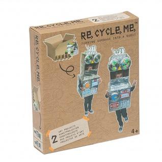 Re-Cycle-Me Themenbox Make a Robot - Bastelset Re-Cycle-Me