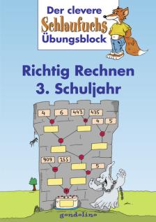 Kinderbuch Schlaufuchs Richtig Rechnen 3. Schuljahr