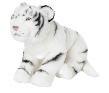 Plüschtier WWF Weißer Tiger, 41cm