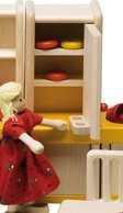 Puppenhausmöbel Küche Filius, Kühlschrank
