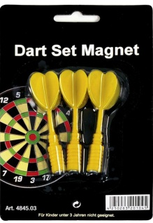 Magnet-Dartboard Ersatzpfeile gelb