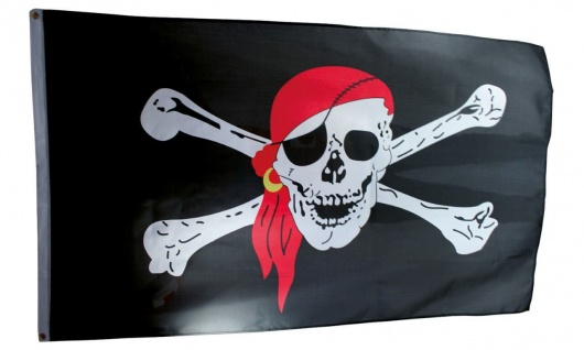 Piratenflagge groß