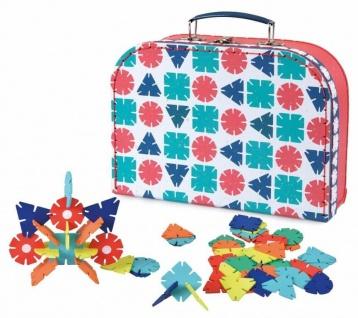 Blumen-Steckspiel im Koffer