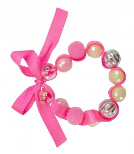 Pink Happy Thoughts Armband