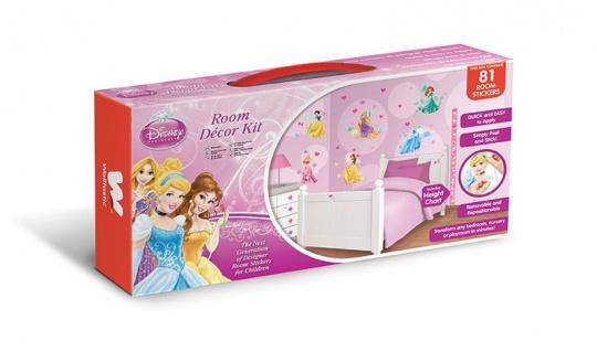 Walltastic Mini Kit Disney Princess
