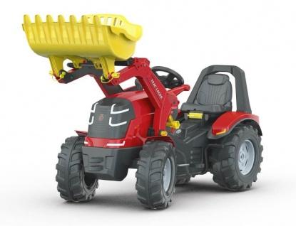 Trettraktor rollyX-Trac Premium, mit Lader und Bremse
