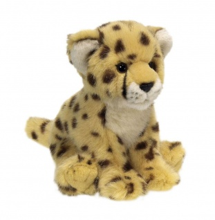 Plüschtier WWF Gepard, sitzend Grösse 19cm