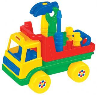 LKW mit Werkzeug - Vorschau