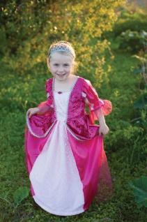 Prinzessinnen-Kleid, Fuchsia - Kinderkostüm Grösse M