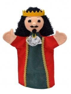 Handpuppe König Karel, 28cm