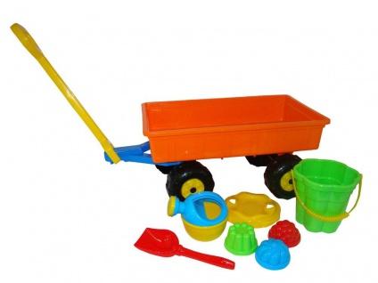 Handwagen Set 8-teilig