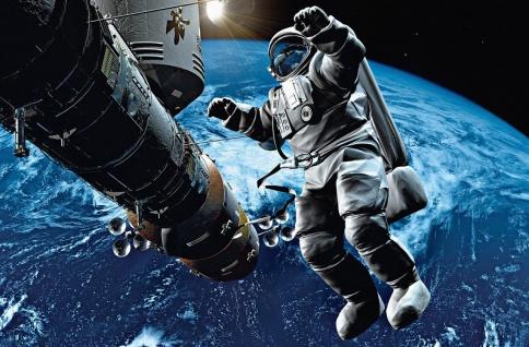 XXL Poster Weltall Astronaut