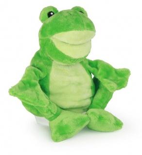 Frosch Handpuppe