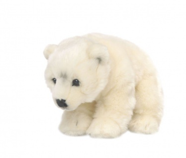 Plüschtier WWF Eisbär weich, Grösse 23cm